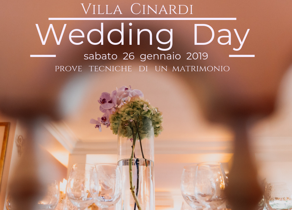 Wedding Day – 26  gennaio 2019
