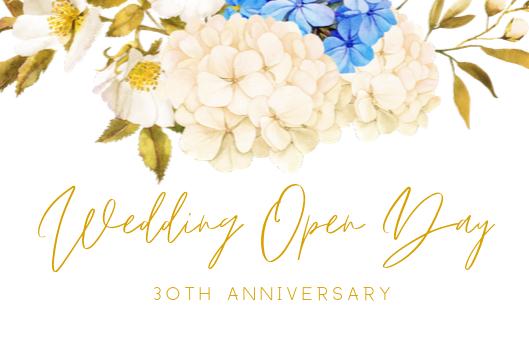 Wedding Open Day – Sabato 19 Ottobre 2019
